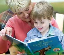 reading with child 3
